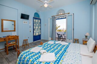 double studio 1 irini tinos bed