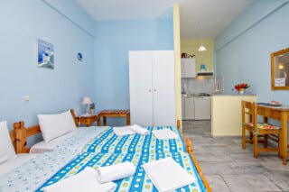double studio 1 irini tinos bedroom