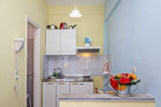 double studio 1 irini tinos kitchenette