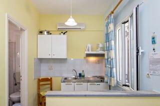 double studio for two irini tinos kitchenette