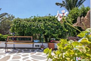triple studio for 3 irini tinos lush garden